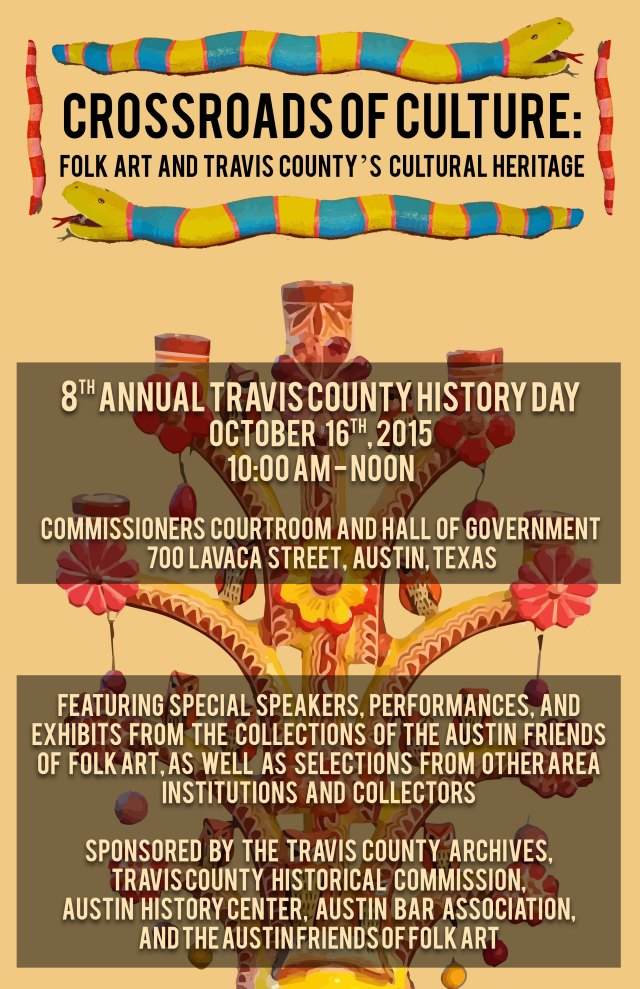2015 History Day Flyer - Mexican American Folk Art 8.5x11