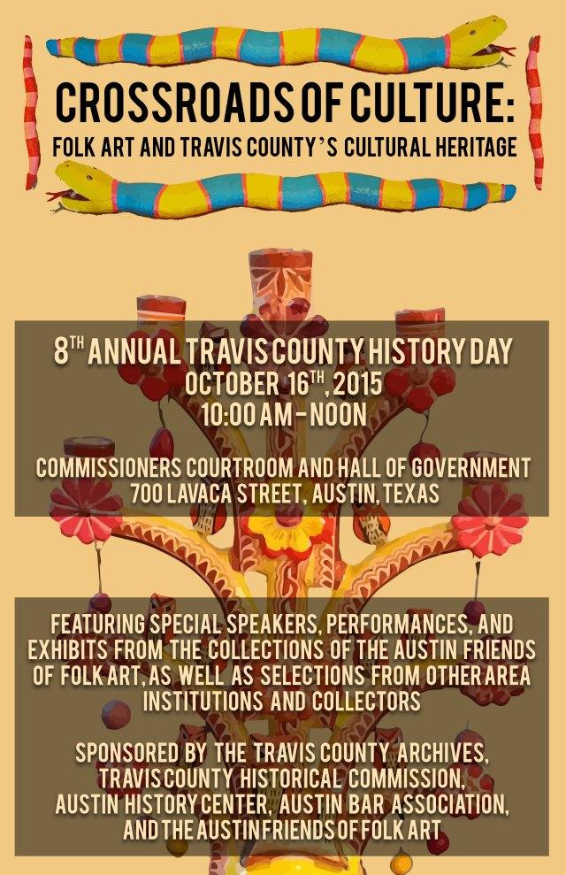 2015 History Day Flyer - Mexican American Folk Art 8.5x11