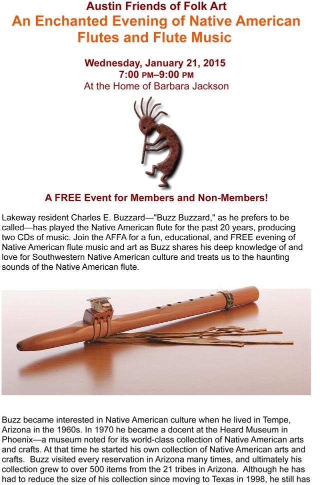 Native American Flute January Event_rev-1