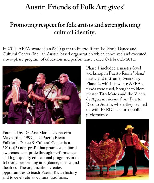 PRFD grant panel-revised 2011